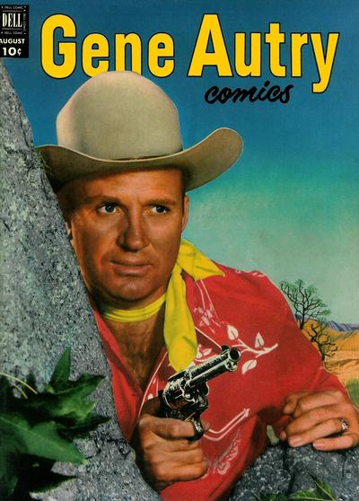 Cover for Gene Autry Comics (Dell, 1946 series) #66