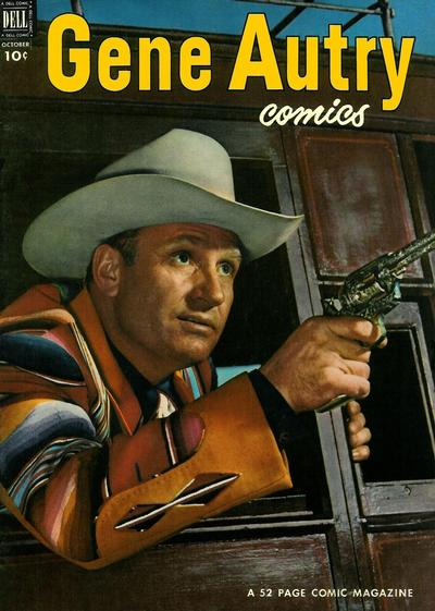 Cover for Gene Autry Comics (Dell, 1946 series) #68