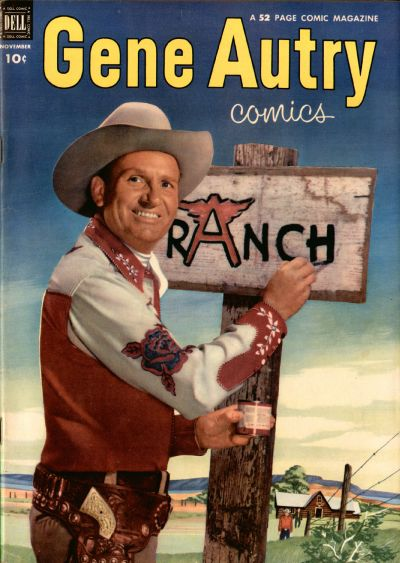 Cover for Gene Autry Comics (Dell, 1946 series) #69