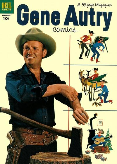 Cover for Gene Autry Comics (Dell, 1946 series) #70