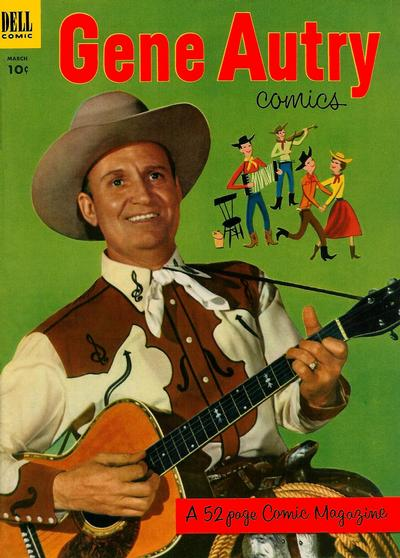 Cover for Gene Autry Comics (Dell, 1946 series) #73