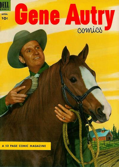 Cover for Gene Autry Comics (Dell, 1946 series) #74