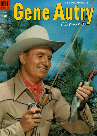 Cover for Gene Autry Comics (Dell, 1946 series) #76