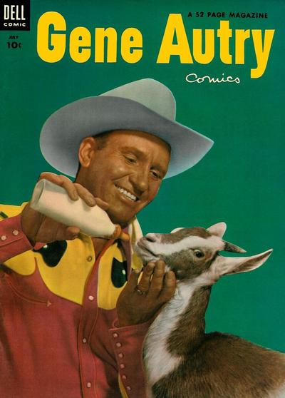 Cover for Gene Autry Comics (Dell, 1946 series) #77