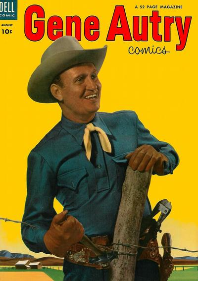 Cover for Gene Autry Comics (Dell, 1946 series) #78