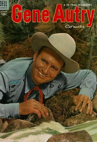 Cover for Gene Autry Comics (Dell, 1946 series) #80