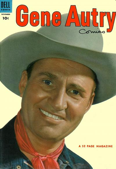 Cover for Gene Autry Comics (Dell, 1946 series) #81