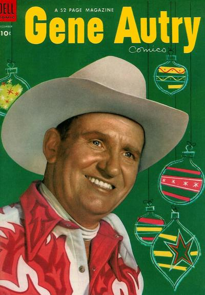 Cover for Gene Autry Comics (Dell, 1946 series) #82