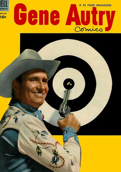 Cover for Gene Autry Comics (Dell, 1946 series) #84
