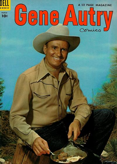 Cover for Gene Autry Comics (Dell, 1946 series) #85
