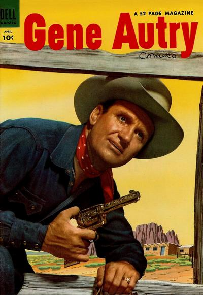Cover for Gene Autry Comics (Dell, 1946 series) #86