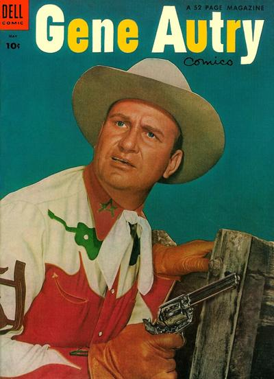 Cover for Gene Autry Comics (Dell, 1946 series) #87