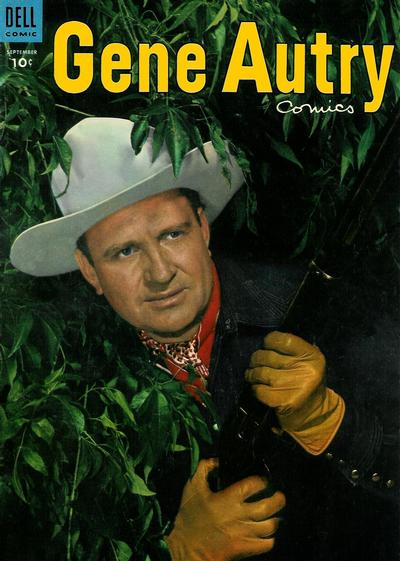 Cover for Gene Autry Comics (Dell, 1946 series) #91