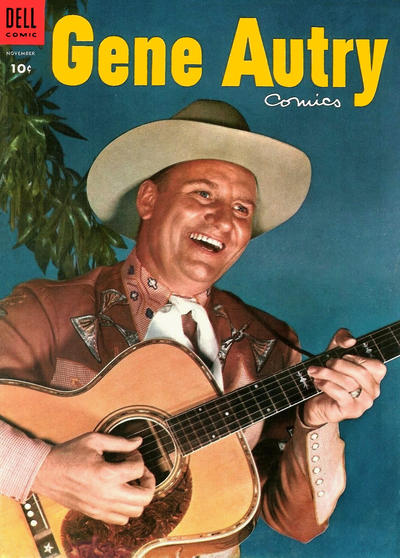 Cover for Gene Autry Comics (Dell, 1946 series) #93