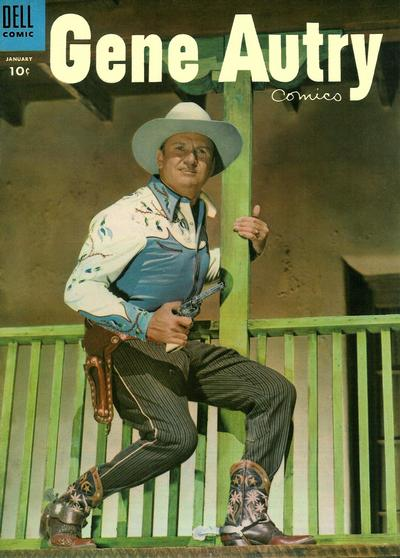 Cover for Gene Autry Comics (Dell, 1946 series) #95