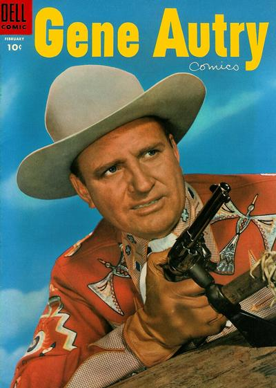 Cover for Gene Autry Comics (Dell, 1946 series) #96