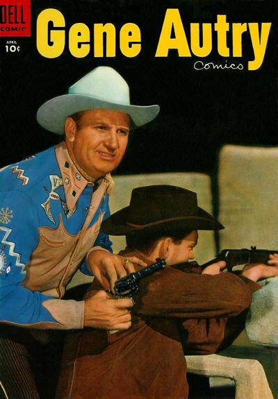 Cover for Gene Autry Comics (Dell, 1946 series) #98