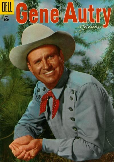 Cover for Gene Autry Comics (Dell, 1946 series) #99