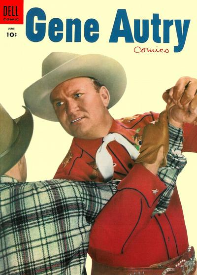 Cover for Gene Autry Comics (Dell, 1946 series) #100