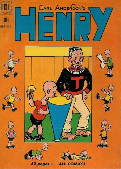 Cover for Henry (Dell, 1948 series) #16