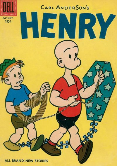 Cover for Henry (Dell, 1948 series) #51