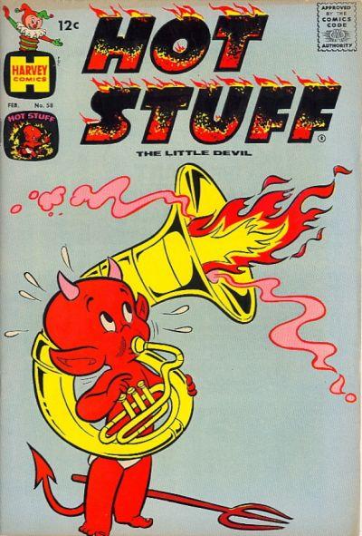 Cover for Hot Stuff, the Little Devil (Harvey, 1957 series) #58