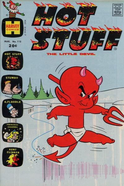 Cover for Hot Stuff, the Little Devil (Harvey, 1957 series) #115