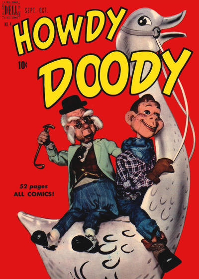 Cover for Howdy Doody (Dell, 1950 series) #4