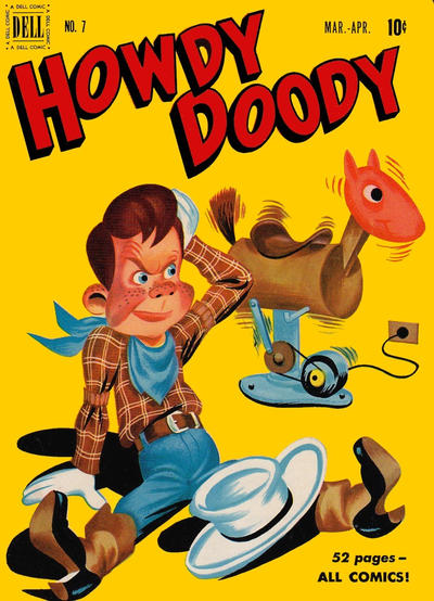 Cover for Howdy Doody (Dell, 1950 series) #7