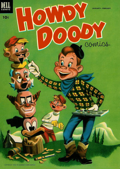 Cover for Howdy Doody (Dell, 1950 series) #20