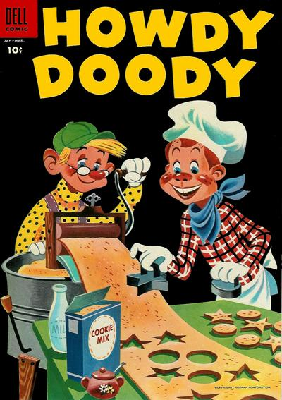 Cover for Howdy Doody (Dell, 1950 series) #32