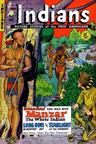 Cover for Indians (Fiction House, 1950 series) #2