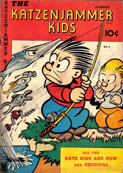 Cover for The Katzenjammer Kids (David McKay, 1947 series) #5