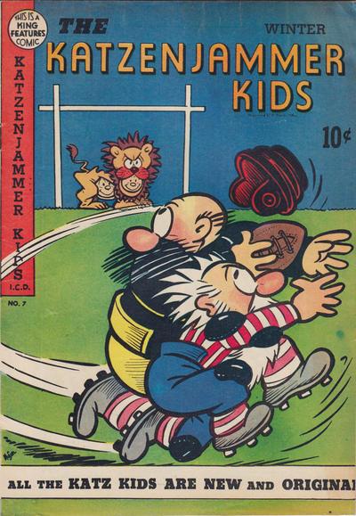 Cover for The Katzenjammer Kids (David McKay, 1947 series) #7