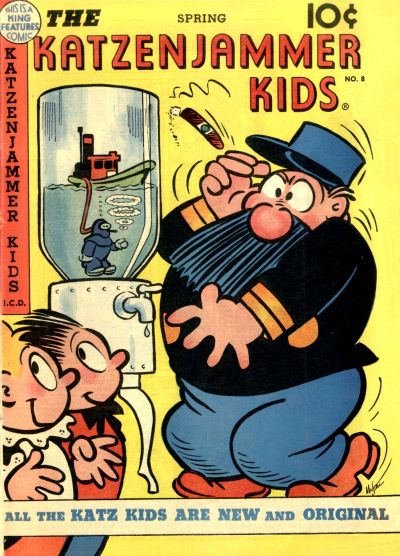 Cover for The Katzenjammer Kids (David McKay, 1947 series) #8