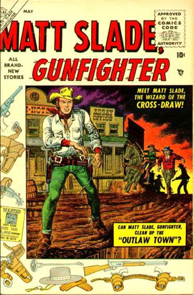 Cover for Matt Slade, Gunfighter (Marvel, 1956 series) #1
