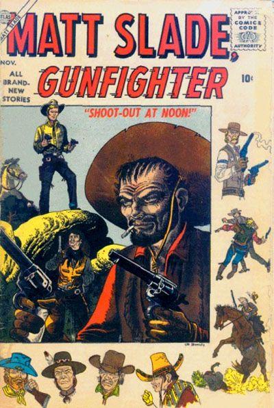 Cover for Matt Slade, Gunfighter (Marvel, 1956 series) #4