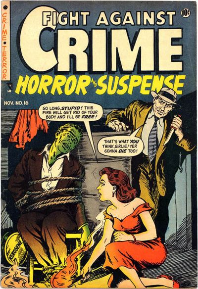 Cover for Fight against Crime (Story Comics, 1951 series) #16