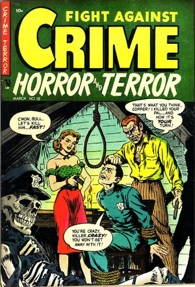 Cover for Fight Against Crime (Story Comics, 1951 series) #18