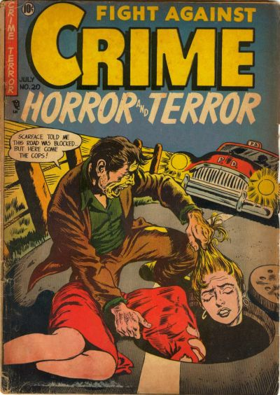 Cover for Fight against Crime (Story Comics, 1951 series) #20