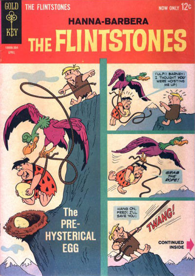 Cover for The Flintstones (Western, 1962 series) #10