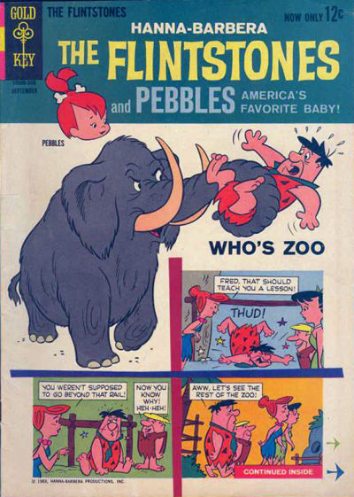 Cover for The Flintstones (Western, 1962 series) #13