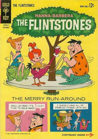 Cover for The Flintstones (Western, 1962 series) #15