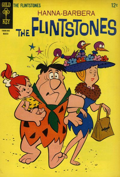 Cover for The Flintstones (Western, 1962 series) #25