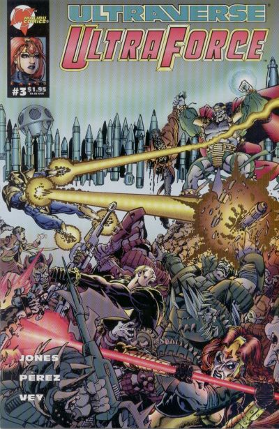 Cover for UltraForce (Malibu, 1994 series) #3