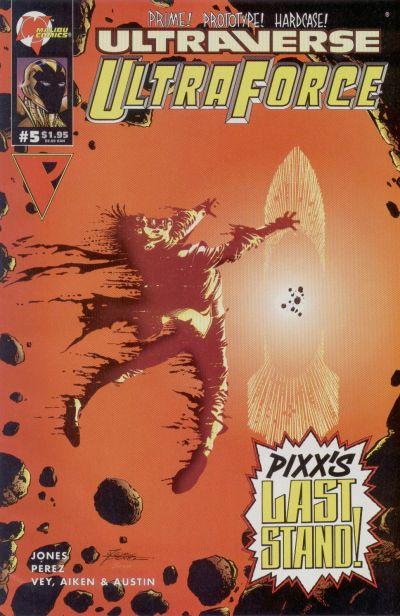Cover for UltraForce (Malibu, 1994 series) #5