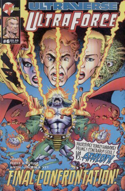 Cover for UltraForce (Malibu, 1994 series) #6