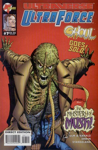 Cover for UltraForce (Malibu, 1994 series) #7