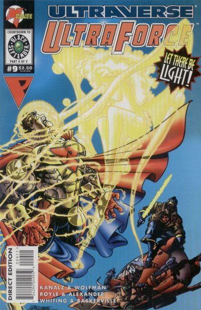 Cover for UltraForce (Malibu, 1994 series) #9
