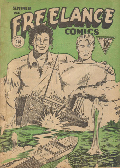 Cover for Freelance Comics (Anglo-American Publishing Company Limited, 1941 series) #v1#10